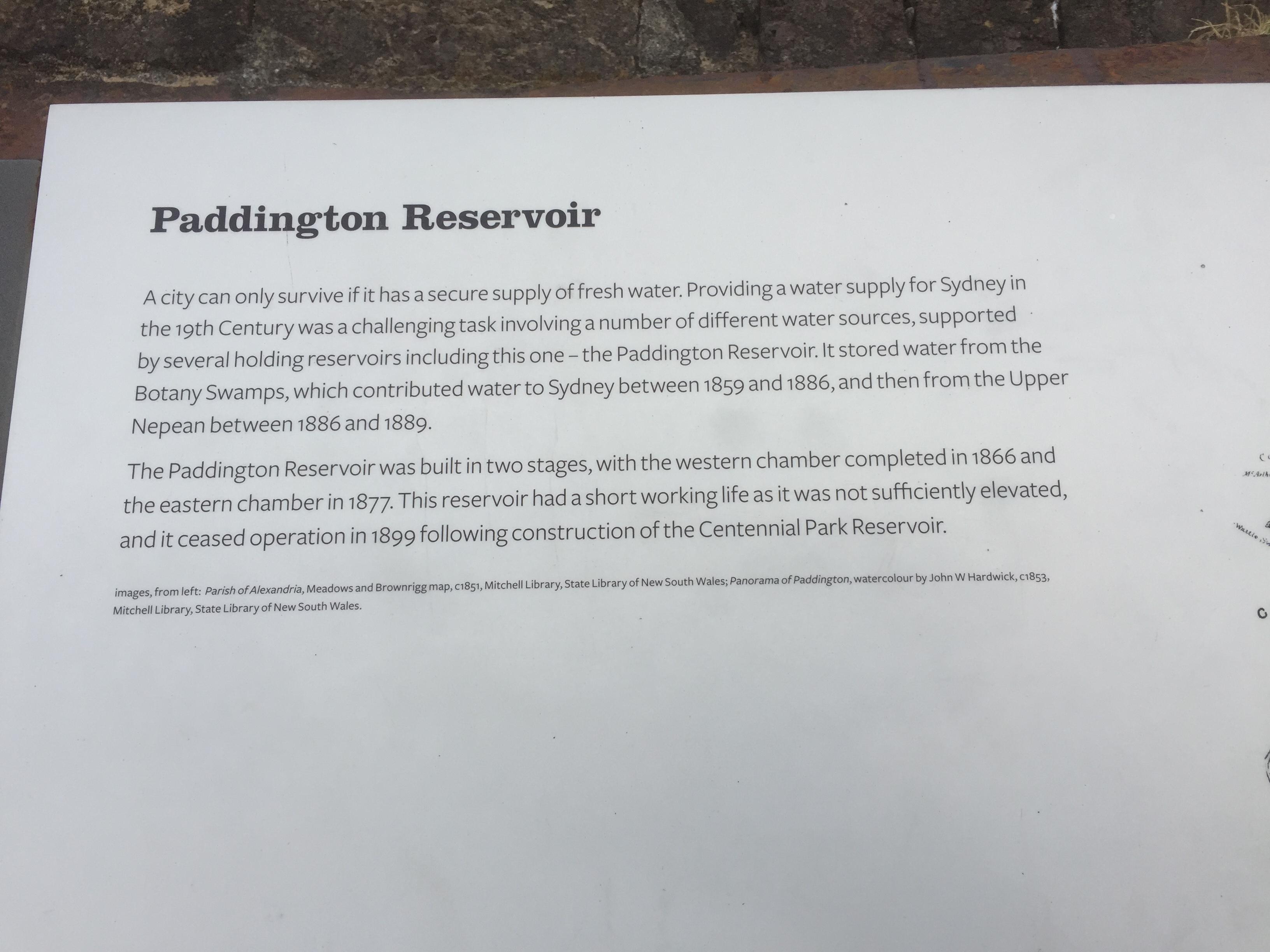 Guten Morgen Sydney Paddington Reservoire