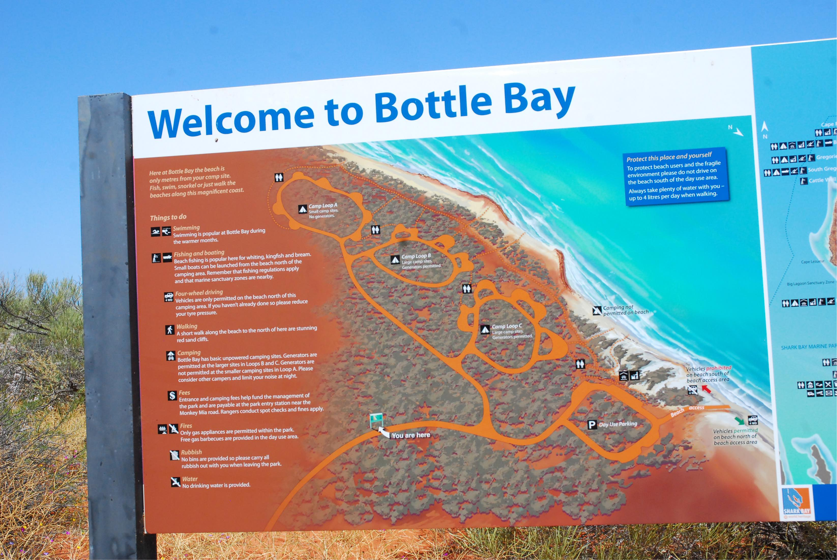 Bottle bay