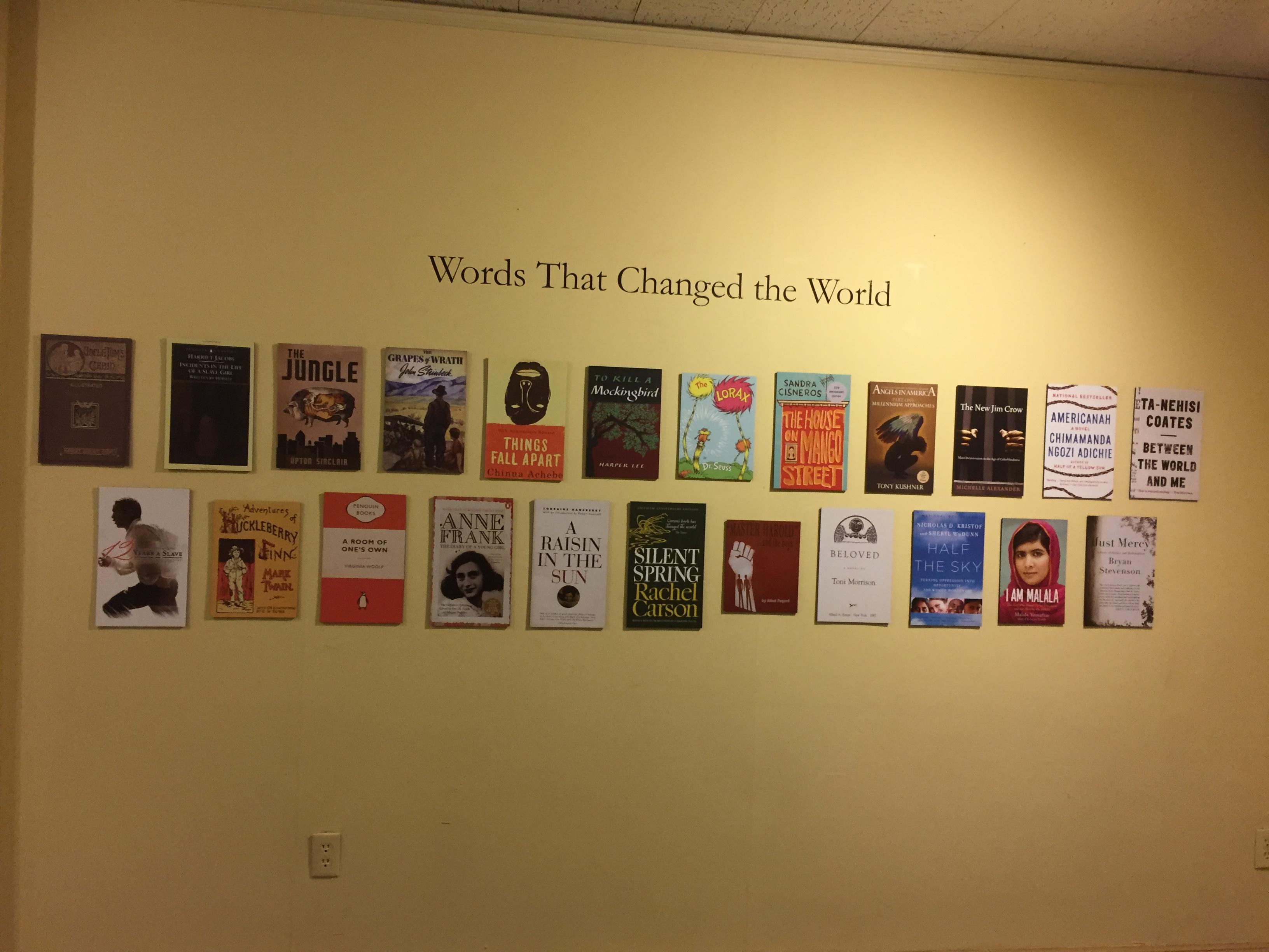 Books that changed the world Hariett Beecher Stowe House