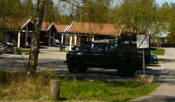 Kristinehamn Schweden Land Rover Defender Landy