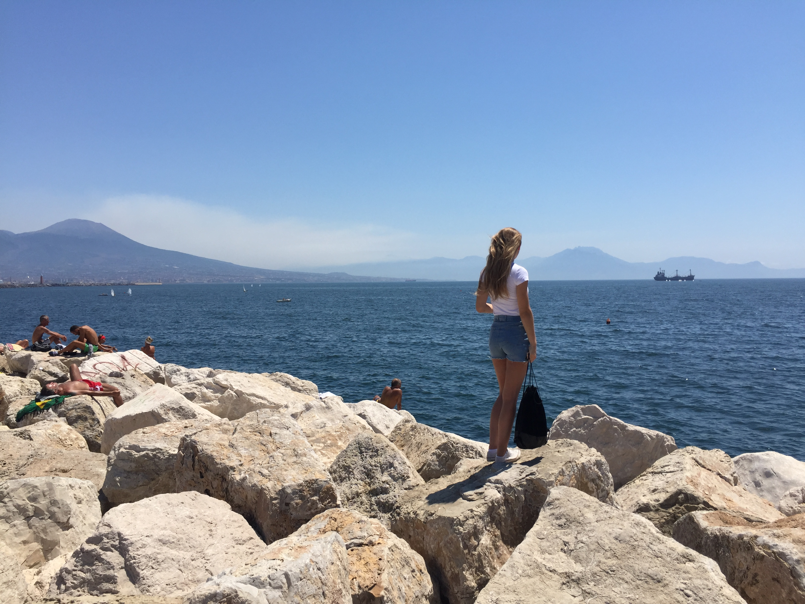 Neapel Capri ist nicht weit