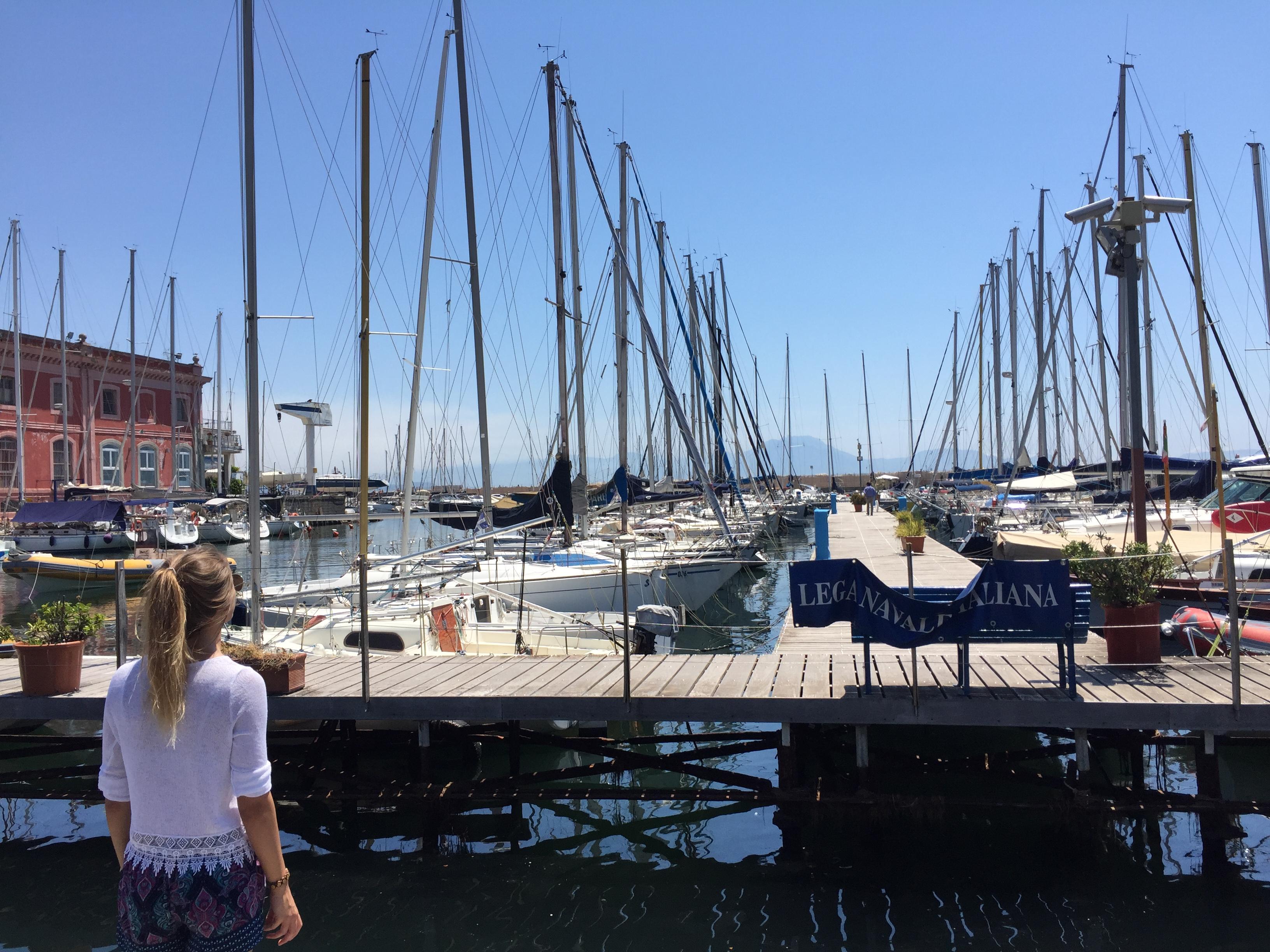 Hafen in Neapel