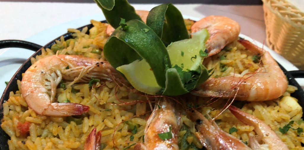 Fisch-Paella